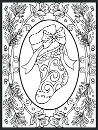 Beautiful Design Christmas Coloring Pages For Adults Pdf Christmas