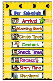 46 Systematic Preschool Daily Schedule Chart