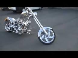 orange county choppers chromasaurus custom chopper in uk youtube