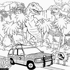 Small Picture TRex and Indominus Rex Coloring Page eColoringPagecom