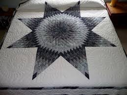 Handmade and Patchwork Double Wedding Ring Quilt | Amish & Lone Star Quilt Adamdwight.com