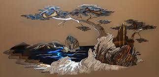 wall art ideas design artistic donnie sculptures decorations metal painting beautiful nature professional artworks sculpture top