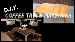 Coffee Table Makeover YouTube