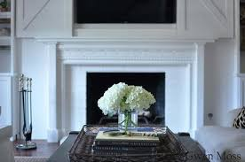 my diy cottage style fireplace mantel reveal