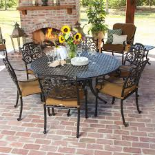lovely round table patio dining sets qzrcr formabuona 6 piece set