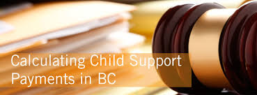 Child Support Chart Bc Calculating Child Support Payment In British Columbia