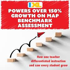 Ixl Progress Chart Ixl Math Powers Over 150 Percent Growth On Map Benchmark