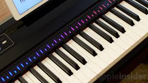 Piano Key Lights Review One Smart Keyboard Pro Uses A Lightning Cable And