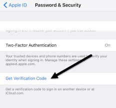 generate a verification code for apple