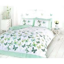 girls erfly bedding reversible polka dot cotton rich duvet cover bed set erfly duvet cover dunelm