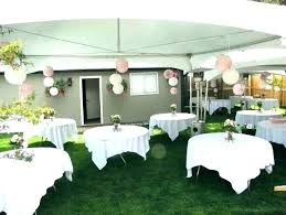 backyard party decorating ideas outdoor decorations on a budget parties graduation