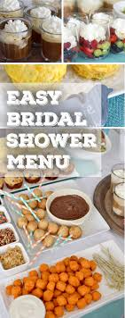 Kitchen Tea Food 17 Best Ideas About Bridal Shower Menu On Pinterest Wedding