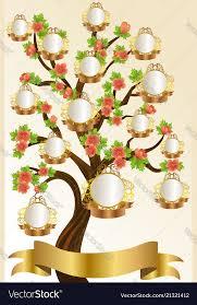 Family Tree Tree Template Family Tree Template