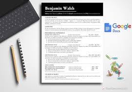 Technical Resume Template Benjamin Walsh Bestresumes