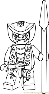 Small Picture Ninjago Rattla Coloring Page Free Lego Ninjago Coloring Pages