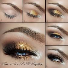 makeup ideas for prom gold and brown eye makeup for blue eyes these are