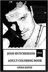 Josh Hutcherson Adult Coloring Book The Hunger Games Star