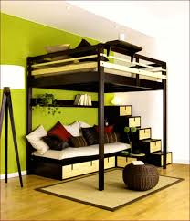 loft bunk beds with stairs bunk beds desk