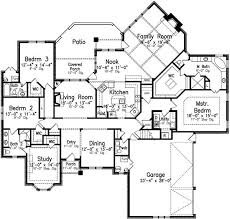 497 best house plans images on pinterest house floor plans Four Bedroom Cottage House Plans style house plans 3091 square foot home, 1 story, 4 bedroom and 3 4 bedroom cottage house plans