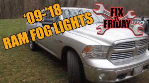 2016 Dodge Ram Fog Light Bulb 2009 2018 Dodge Ram Fog Light