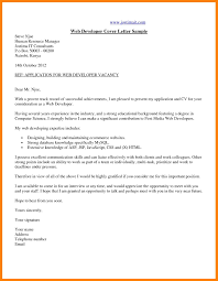 Memo Cover Letter Example 8 Cover Letter Web Developer Writing A Memo Payment Format