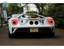 IDA GT, Ford GT (New Jersey) License plate of the USA