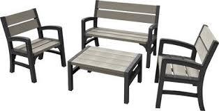 <b>Комплект мебели</b> MONTERO WLF Bench set (диван, 2кресла ...