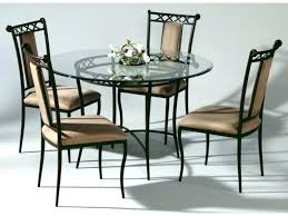 glass top dinette sets full size of incredible round wrought iron glass top dining table 7 excellent in chairs dinette 36 round glass top dinette sets