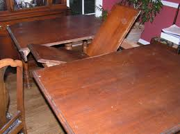 unique design antique dining room tables with leaves this depression era table s its leaf in