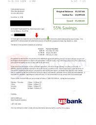Bank Of America Credit Card Settlement Letter Juzdeco Com