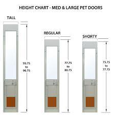 px se series power pet double pane low e glass fully automatic patio pet doors