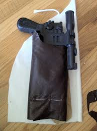 han solo holster cosplay tutorial
