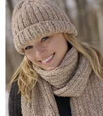 Loom Hat Patterns Impressive Ravelry Ribbed Hat And Scarf Set Pattern By Authentic Knitting Board
