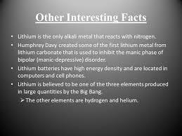 Lithium By : Monika Clark. Periodic Table Information Name ...