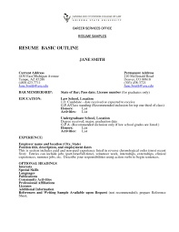 How To Write A Basic Resume For A Job Resume Peppapp