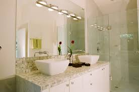 tile bathroom countertop ideas. example of a trendy bathroom design in other with mosaic tile vessel sink and countertop ideas n