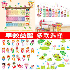 The international phonetic alphabet (ipa) is a system where each symbol is associated with a particular english sound. Usd 9 63 Kindergarten Classroom Environment Layout Stickers Children S Room Cute Height Wall Sticker Phonetic Alphabet Multiplication Table Puzzle Wholesale From China Online Shopping Buy Asian Products Online From The Best