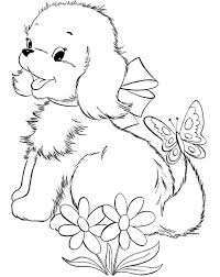 Small Picture 334 best Coloring book dogs images on Pinterest Coloring books