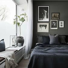 dark grey walls bedroom ideas design