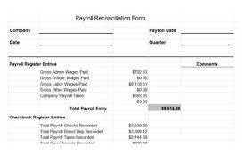 Payroll Tax Worksheet Payroll Reconciliation Spreadsheet Spreadsheet Collections