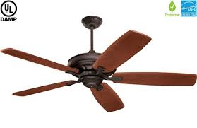 emerson carrera grande eco oil rubbed bronze indoor outdoor damp ceiling fan with optional downlight
