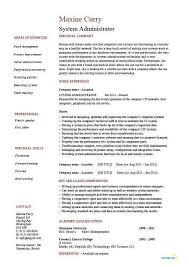 hr administrator resume samples network administrator resume sample inspirational to hr manager