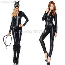 2019 whole pvc wet look bandage catsuit faux leather suit catwoman costume from 2016 30 33 dhgate com