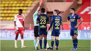 Ligue 1: AS Monaco verliert trotz Volland-Tor gegen Lyon – 5 Platzverweise
