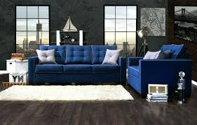 image of best blue couch living room