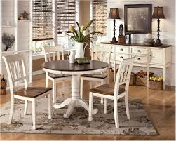 astounding whitesburg 5 piece round dining table set in brown white by dining dazzling image breakfast table set for 6