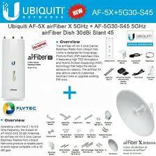 * Новый * <b>Ubiquiti</b> AF-5X <b>airfiber X</b> 5GHz + AF-5G30-S45 airFiber ...