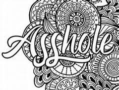 Swear Word Adult Coloring Pages Coloring Pages Pinte