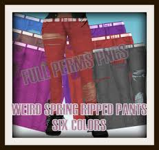 Create Your Own Pants Second Life Marketplace Dar Designs Full Perms Pngs