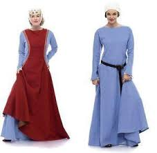 Medieval Dress Patterns Awesome Medieval Dress Pattern EBay
